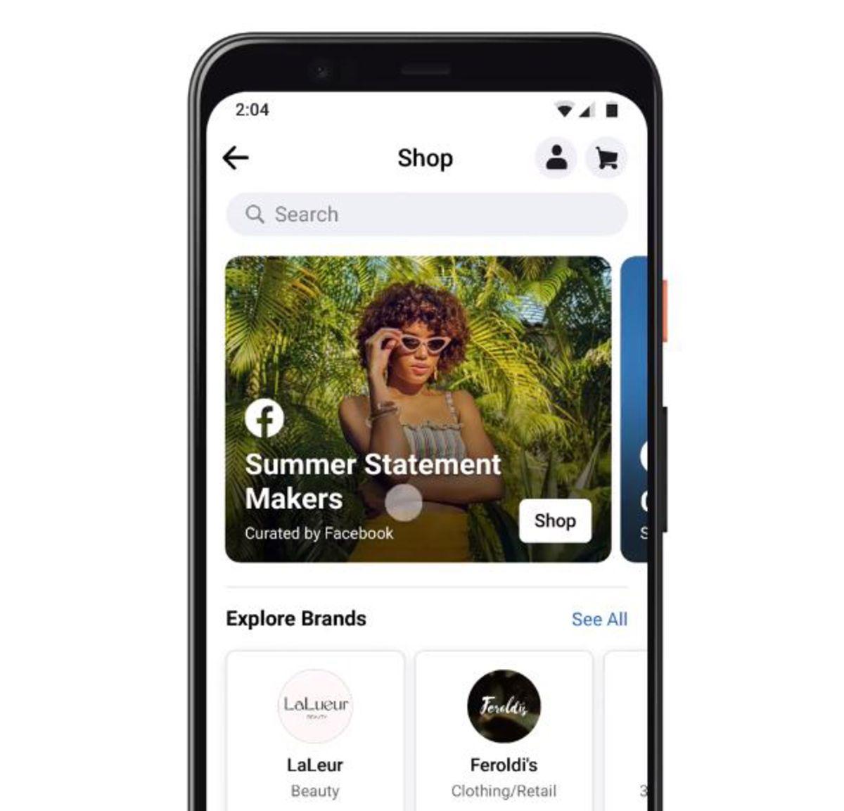フェイスブック、新たな通販機能を追加-電子商取引事業強化に向け - Bloomberg