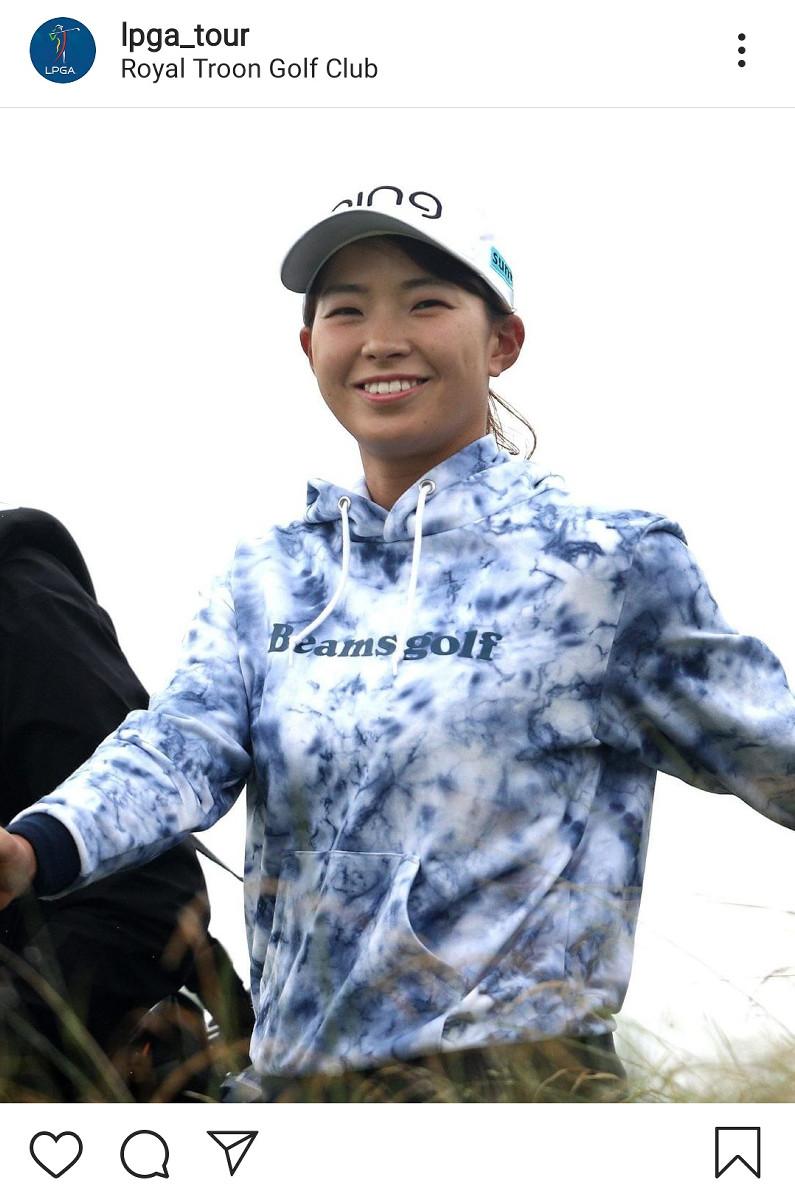 全英ディフェンディング女王・渋野日向子を大会&ツアーの公式インスタが特集「笑顔とともに戻ってきた」 : スポーツ報知