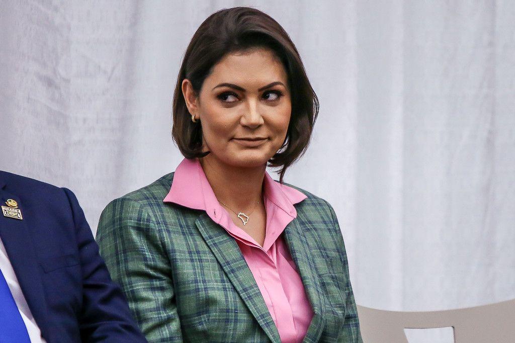 新型コロナ感染の大統領夫人も回復 ブラジル:時事ドットコム