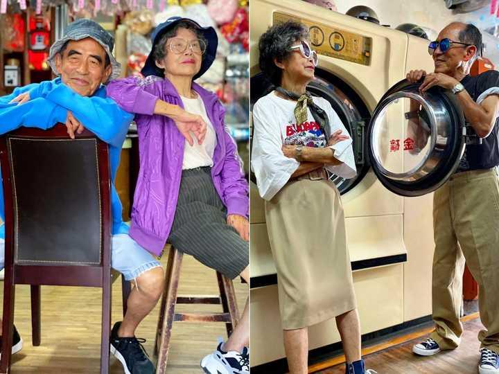 経営するクリーニング店に客が置いていった服をおしゃれにコーディネート! 80代の夫婦がインスタグラムで人気   Business Insider Japan