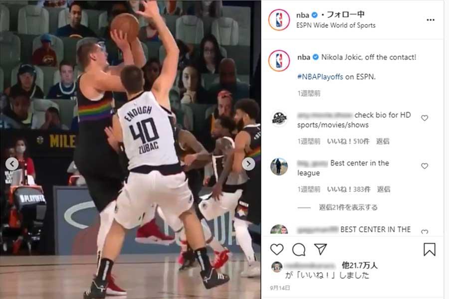 【NBAバズ動画解剖】