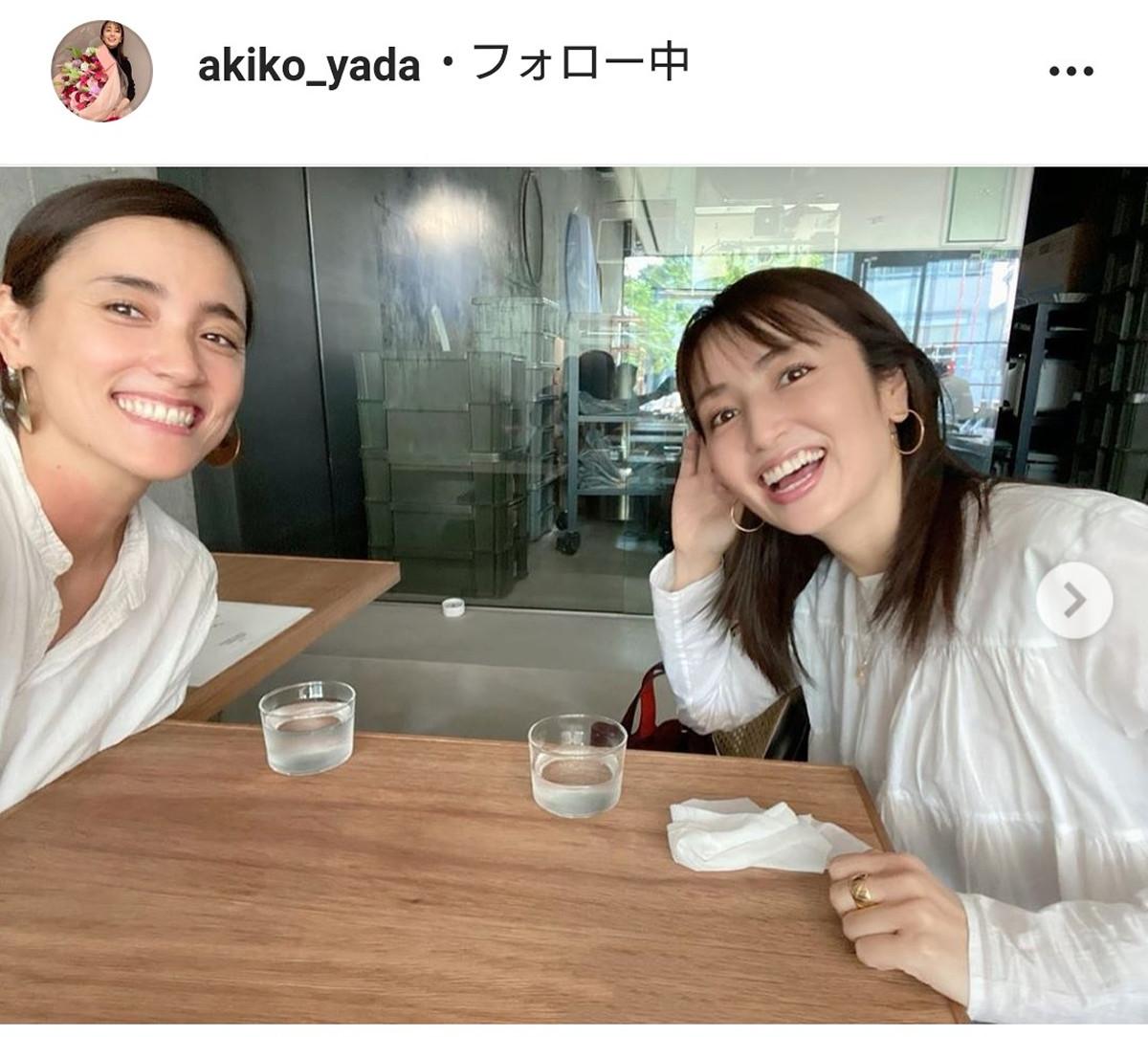 矢田亜希子、旧友・一色紗英との2ショット披露に「すごいツーショット」「昔と変わらず、お綺麗」 : スポーツ報知