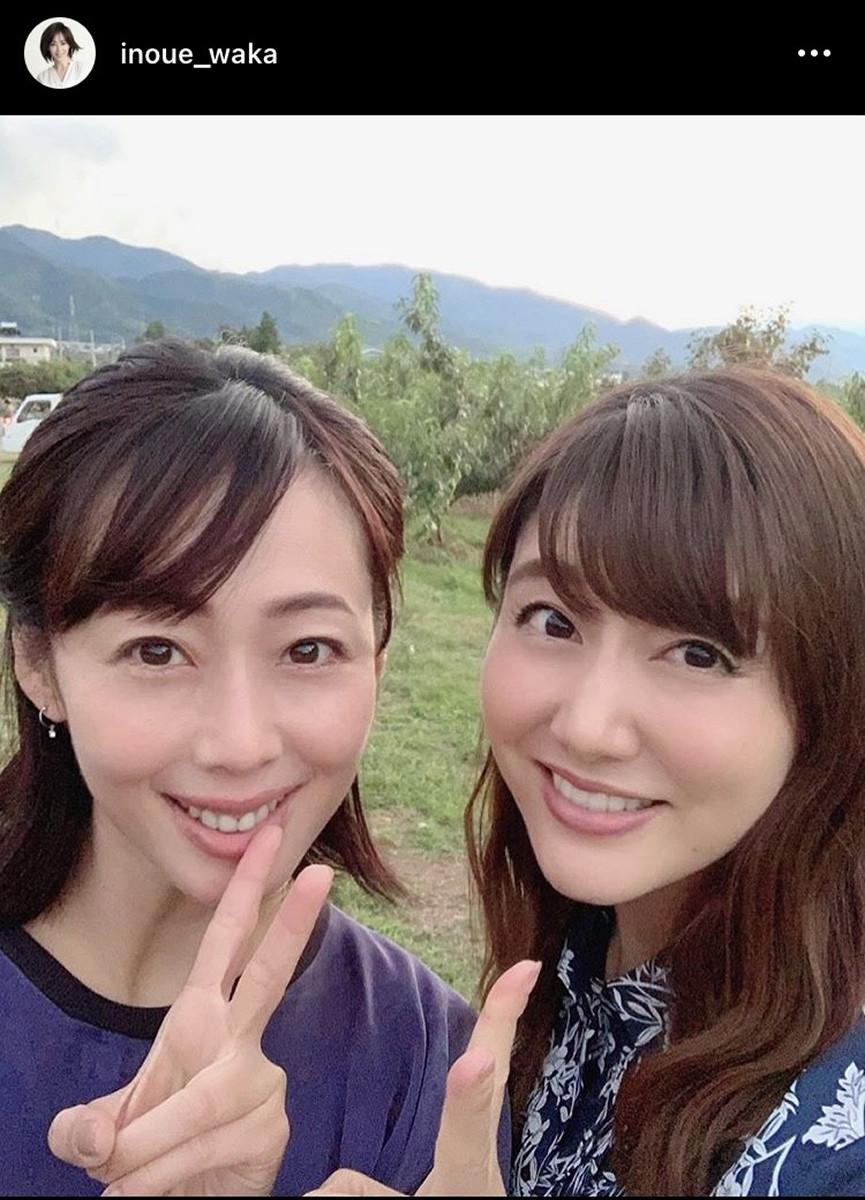 井上和香&安めぐみの2ショットにファン歓喜「相変わらずお綺麗。永遠のアイドル」 : スポーツ報知