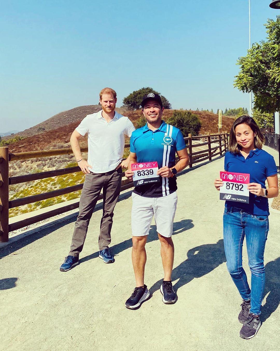 LA在住のヘンリー王子、ロンドンマラソンのランナーを驚かす!(ハーパーズ バザー・オンライン) - Yahoo!ニュース