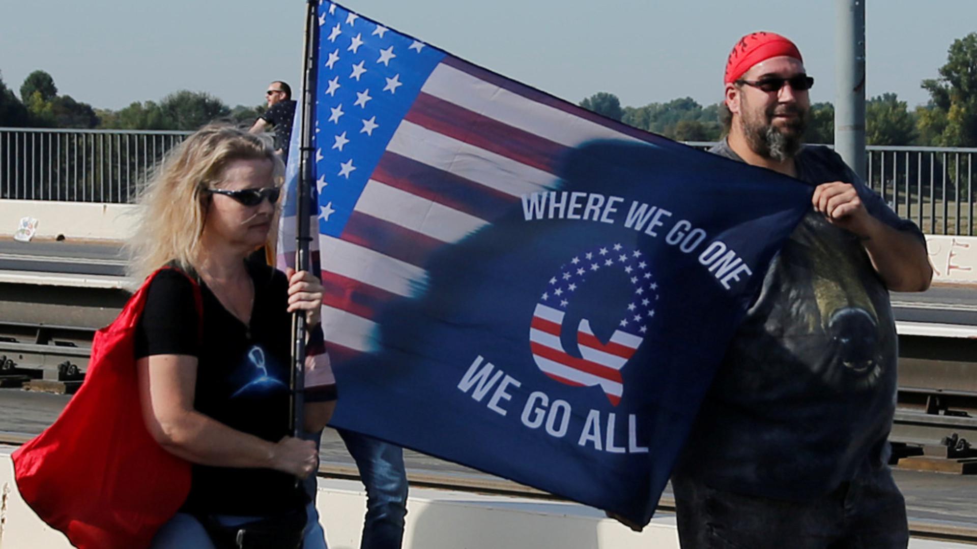 Qアノンの極右陰謀論を信じるアメリカの本気度 コロナ危機で激増、世界に広がる(木村正人) - 個人 - Yahoo!ニュース