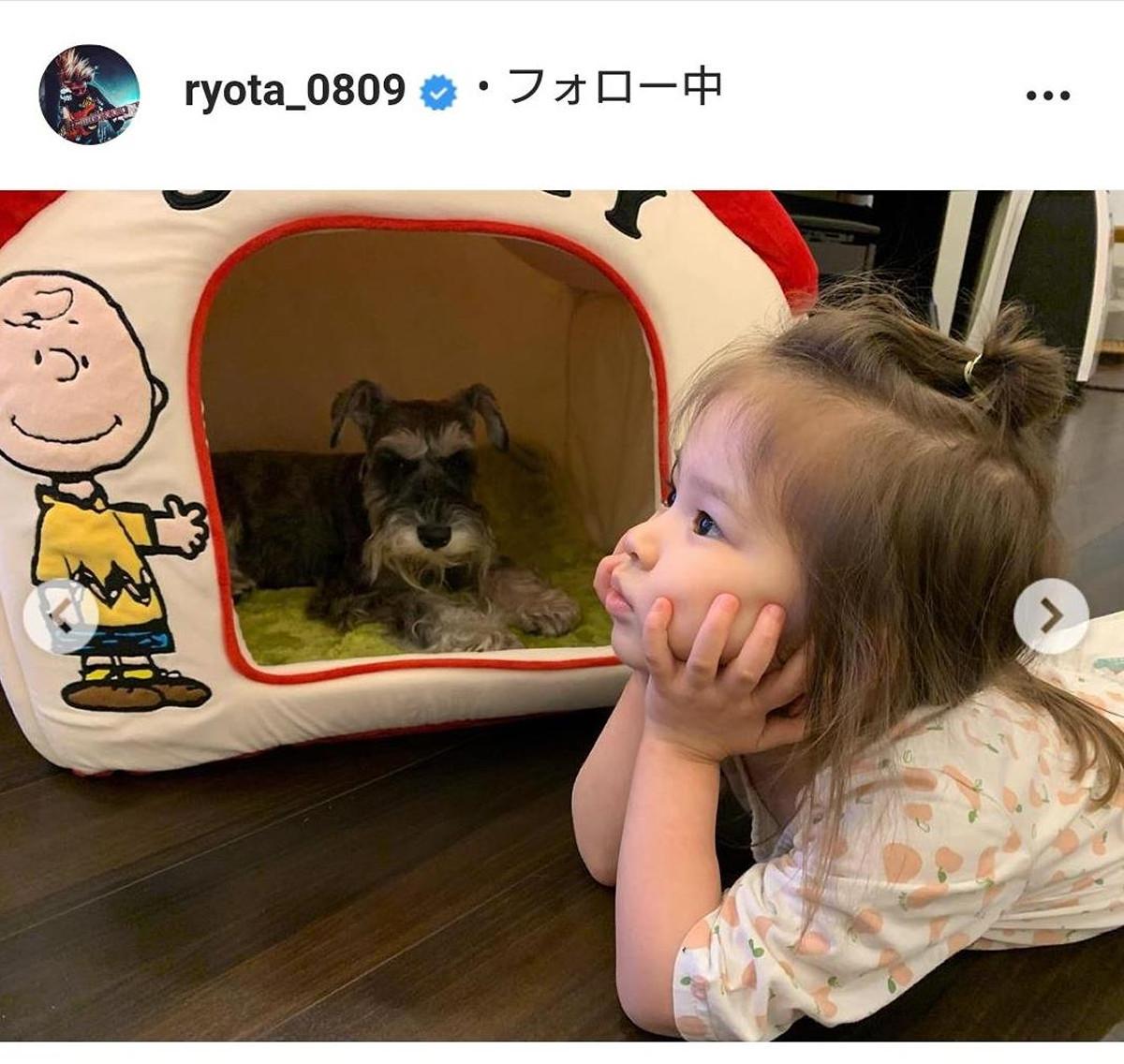 ワンオクRyota、アヴリルの妹ミシェル夫人との長女が3歳誕生日「すっかり女の子」「可愛さ増してる」(スポーツ報知) - Yahoo!ニュース