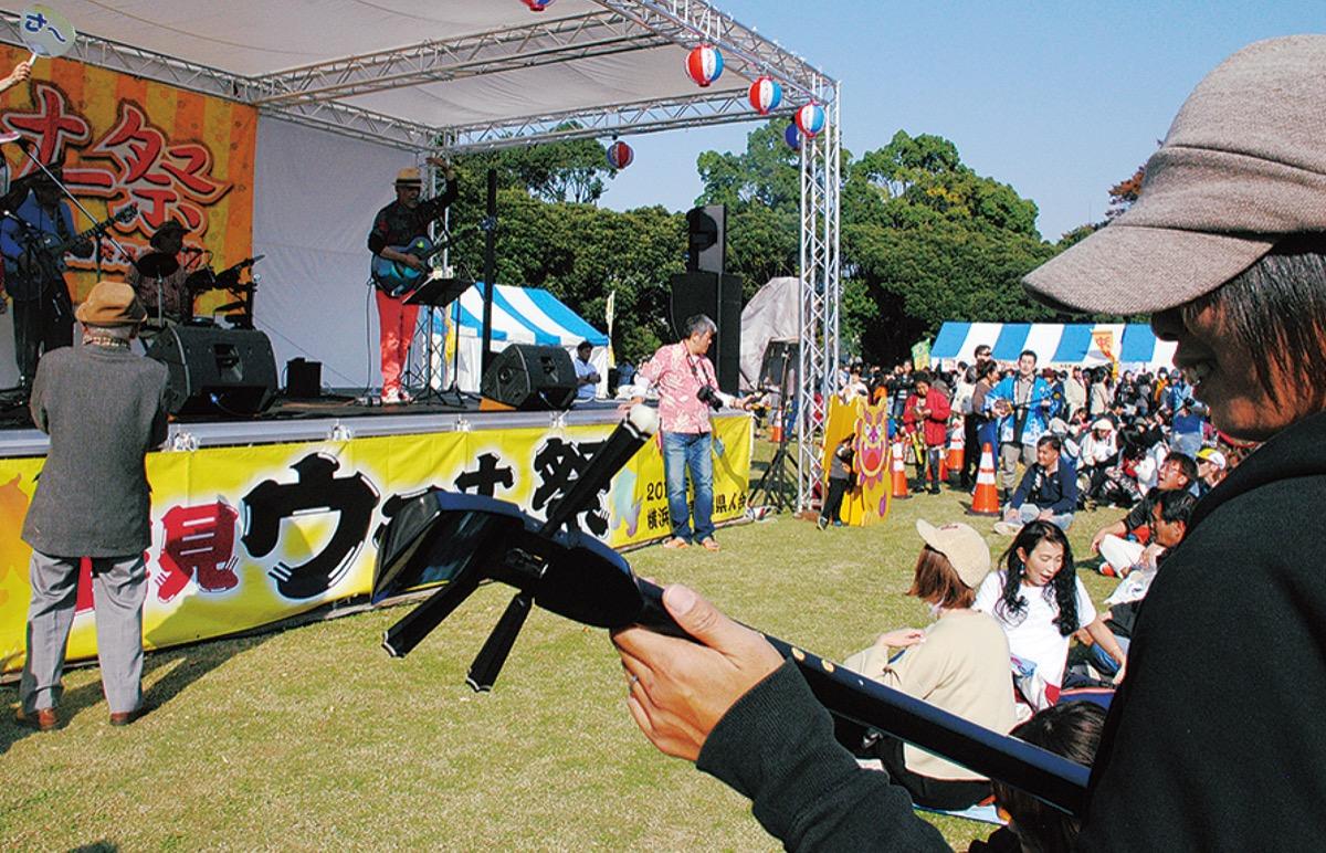 鶴見ウチナー祭 1千人三線の参加者募集 配信時に写真でコラボ | 鶴見区 | タウンニュース