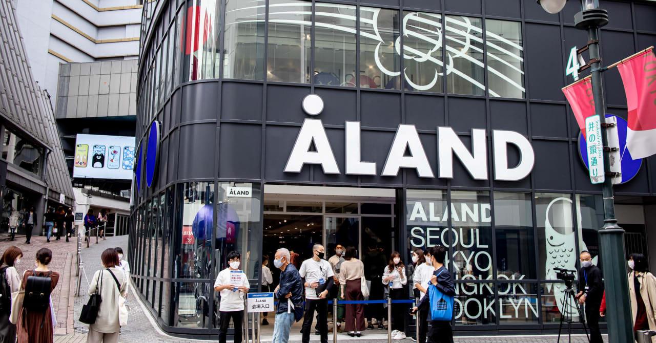 韓国発セレクトショップ「エーランド」50ブランド以上のアイテム展開、店頭には毎週新作を投入