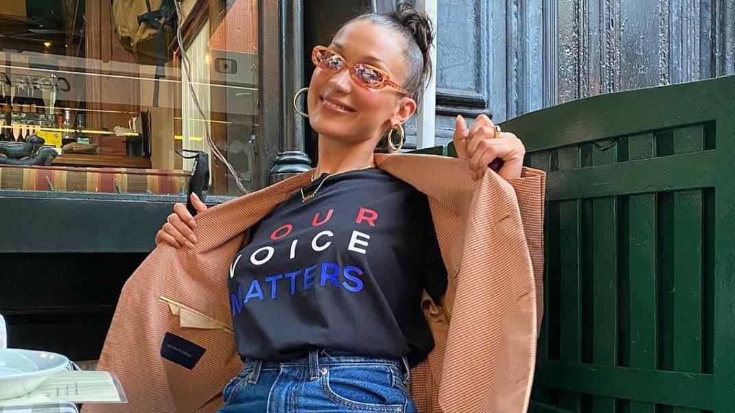 ファッションで投票を訴える! セレブのVOTEスタイル集。 | Vogue Japan