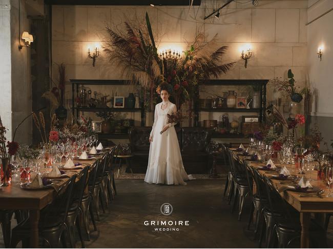 """セレクトヴィンテージショップ""""GRIMOIRE""""(グリモワール)がプロデュースするトータルウエディングサービス、「GRIMOIRE VINTAGE WEDDING」をリリース。:時事ドットコム"""