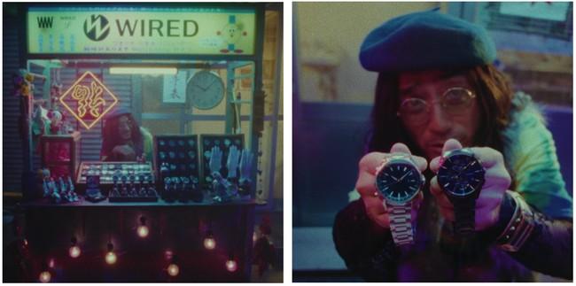 WIREDが20周年記念キャンペーンを開始!時計屋台を舞台にクセだらけの店主とカップルが展開する「屋台ショッピングドラマ」を公開!:時事ドットコム