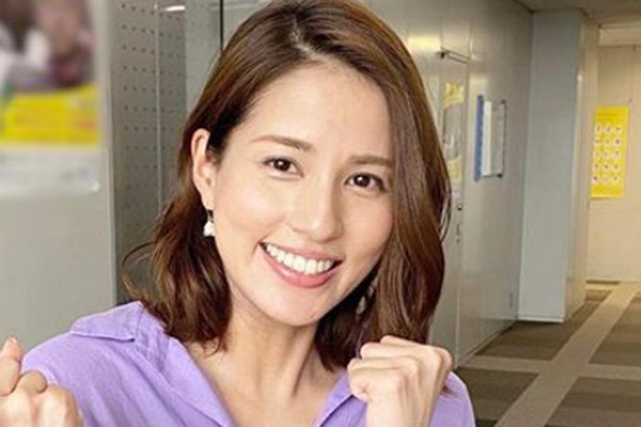 フジ永島優美アナ、キャンプ中の貴重写真公開 紅葉バックにおしゃれコーデ   ENCOUNT