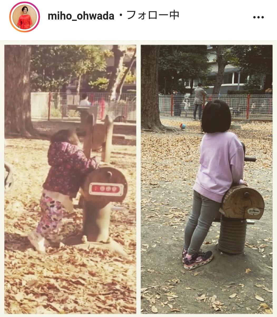 大和田美帆、5歳長女が1歳の時との比較写真を公開「スクスク育ってますーー!!」 : スポーツ報知