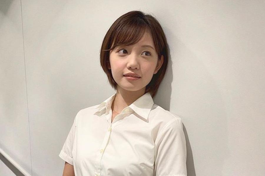 テレ東・田中瞳アナ、マスクの