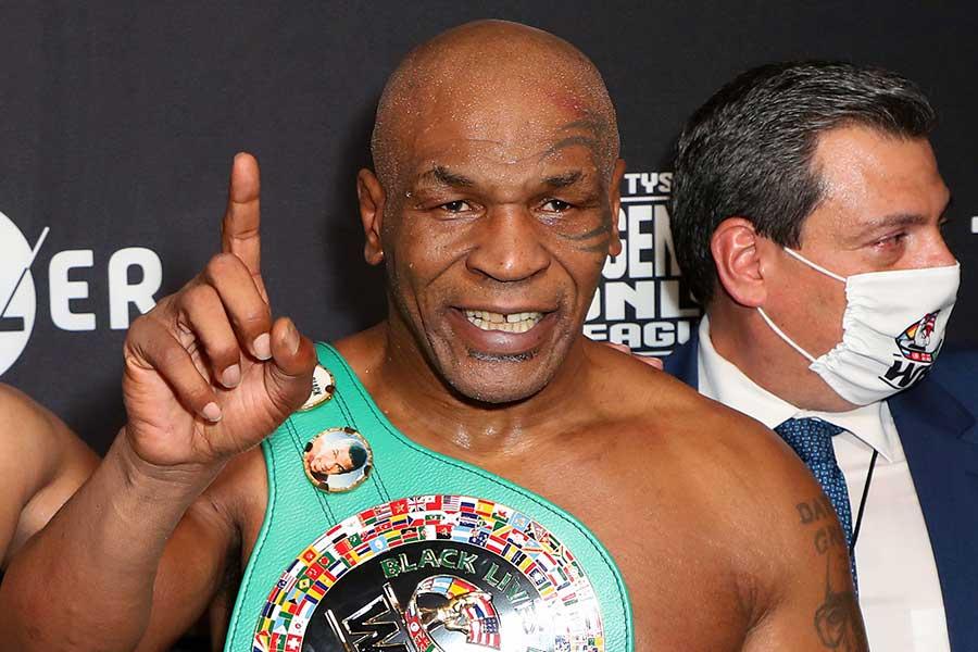 54歳タイソン、総合格闘技リングの猛トレ映像に米驚愕「凄い」「UFCでもやれる」 | THE ANSWER スポーツ文化・育成&総合ニュースサイト