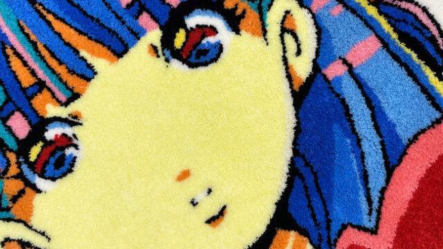 【OIL by 美術手帖】愛☆まどんな、コムロタカヒロらアーティストとコラボしたラグを発表。1/29より展覧会も開催:時事ドットコム