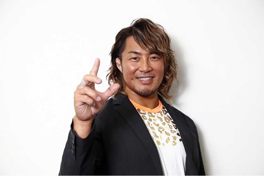 棚橋弘至、ムキムキの上腕三頭筋公開 ファン仰天「腕回り何センチですか?」 | ENCOUNT