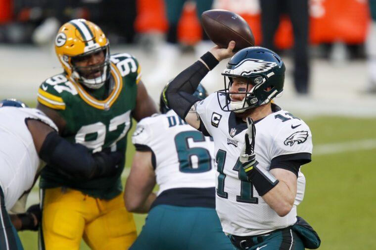 コルツにトレードされたQBウェンツがフィラデルフィアに別れ | NFL JAPAN.COM