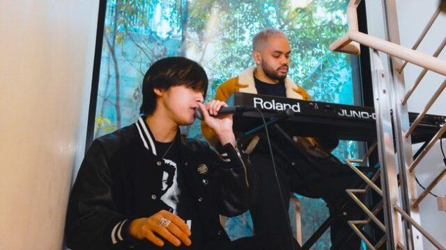 Spotifyのバイラルチャートで急上昇!藤田織也が話題曲「ALL MINE」のライブセッション動画を公開。「Famima Rap」が大ヒット中のプロデューサーMatt Cabとスペシャルコラボ!:時事ドットコム